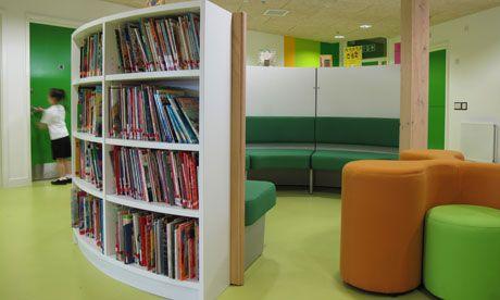 Library at Four Dwellings School, Birmingham UK