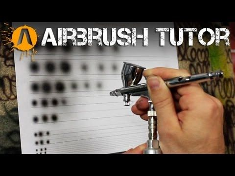 Airbrush Control Exercises - YouTube