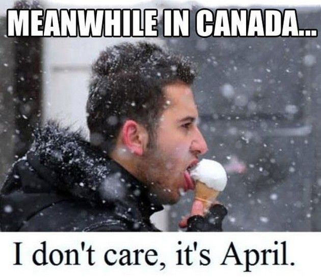 I've walked down the street eating an ice-cream cone while it's snowing, best part it doesn't melt!