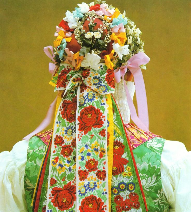 Slovakian folk costumes