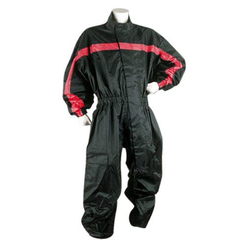 One Piece RS5009 Red Motorcycle Rain Suit S