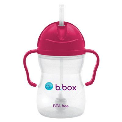 Ideal for transitioning from bottle to cup. With its easy grip handle, weighted straw, and leak proof features, the Sippy Cup allows your baby to drink both in an upright position and lying down.
