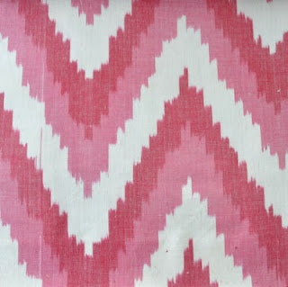 Favourites Collection: Kenzo Ikat (Raspberry) - Available from www.halogen.co.za