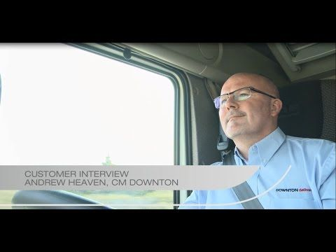 Andrew Heaven - interview | CM Downton - Telematics and DAF Driver Performance Assistant - YouTube