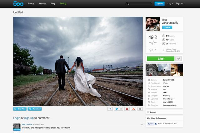 Amazing wedding photographers to follow on 500px: Ilias Zaxaroplastis image