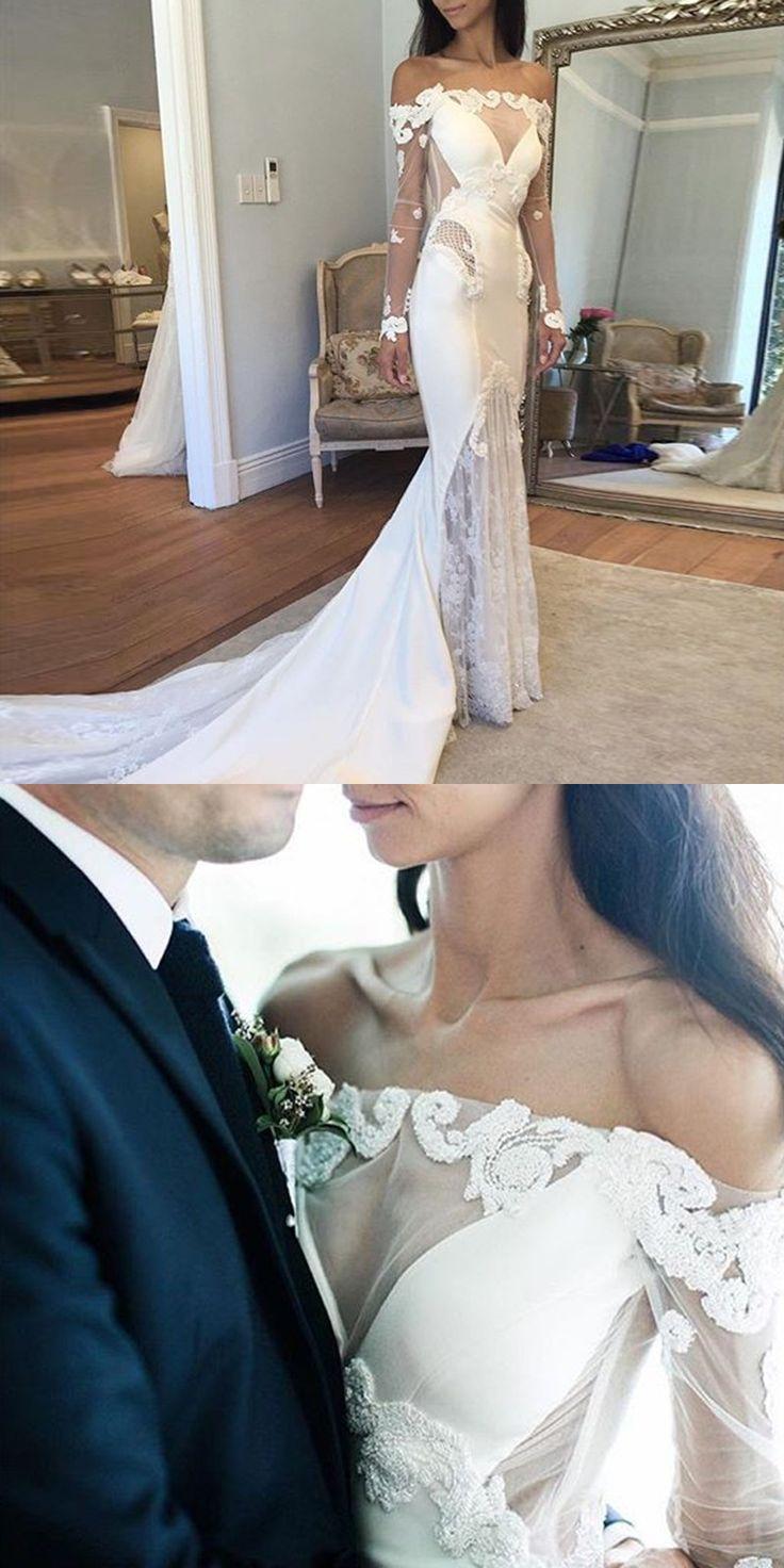 Mermaid Wedding Dresses,Long Sleeves Wedding Dresses,Lace Wedding Dresses,Cheap Wedding Dresses,Plus Size Wedding Dresses,Wedding Dresses 2017
