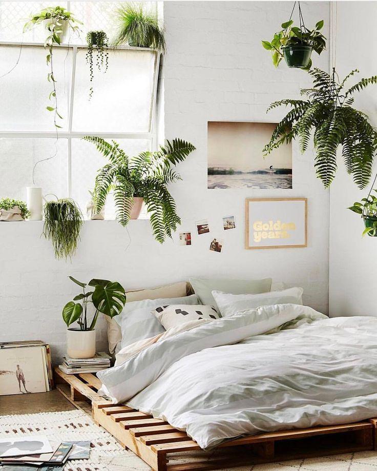 Nice Bit Of Plant Styling Inspi From Lucygladewright Minimalist Bedroom Design Bedroom Decor Bedroom Interior