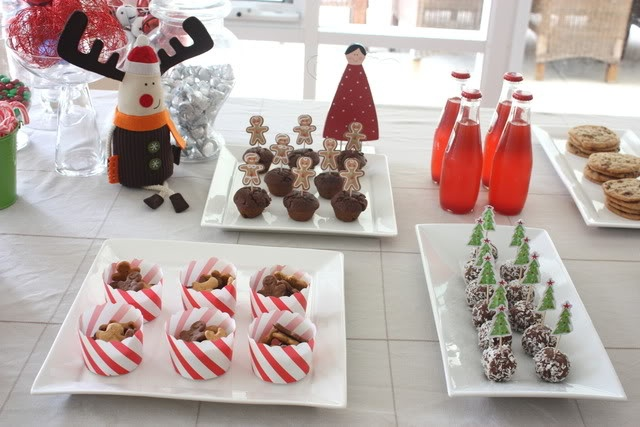 Cute holiday party food