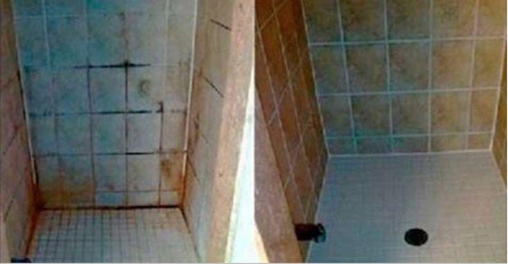 Não use mais cloro - Deixe brancos os azulejos do seu banheiro com esta incrível técnica! - Receitas e Dicas Caseira