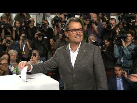 Votación Simbólica Por La Independencia De Cataluña #Video