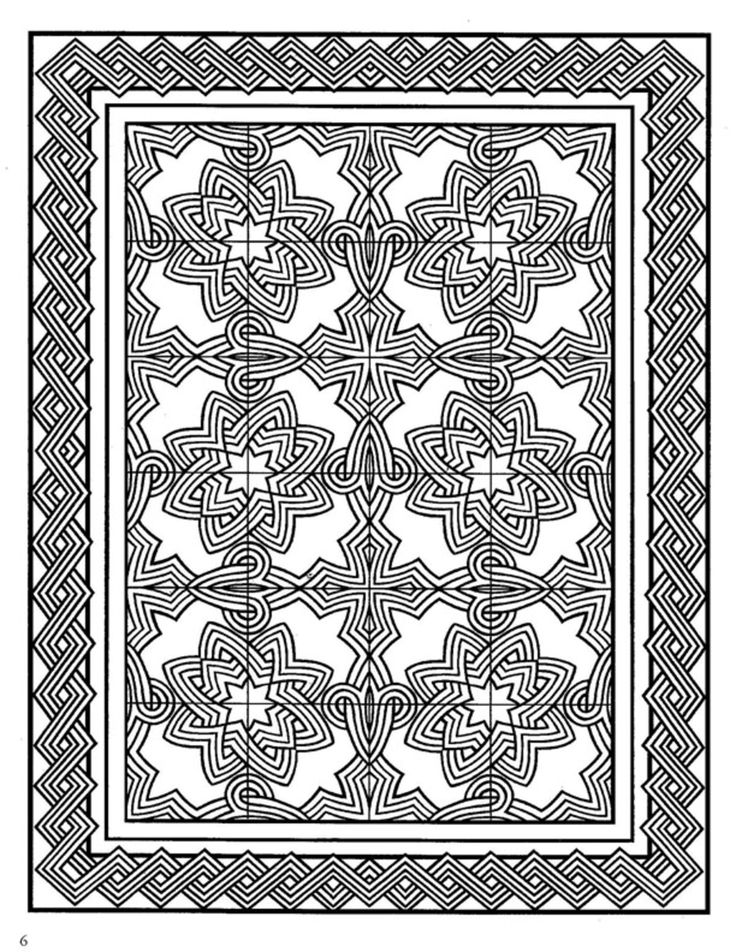 51 best Zentangle coloring pages images on Pinterest - photo#15
