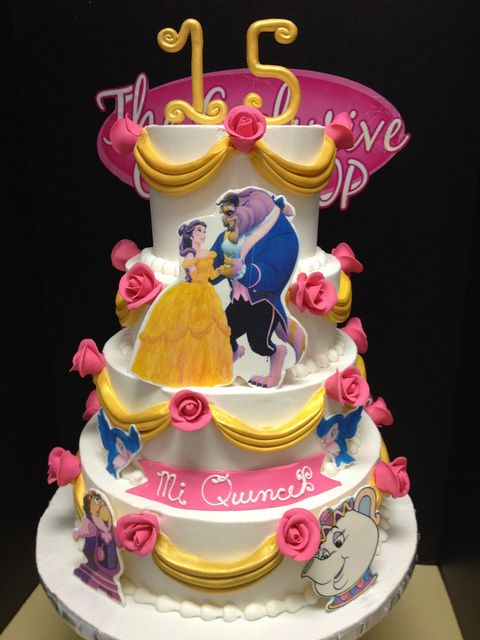 27 Best Images About Beauty And The Beast Cakes On