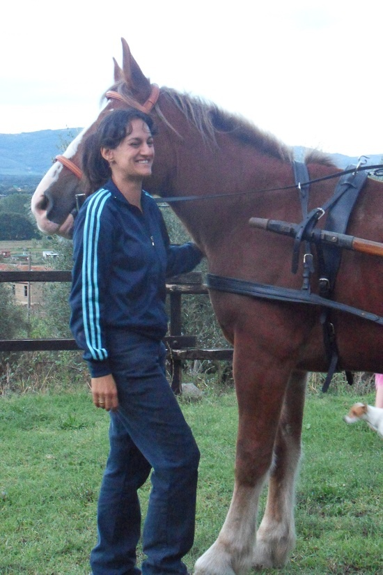 Laura: horse instructress