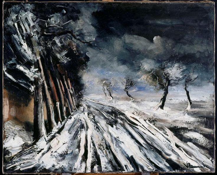Maurice de Vlaminck (1876-1958), Snowstorm n.d.
