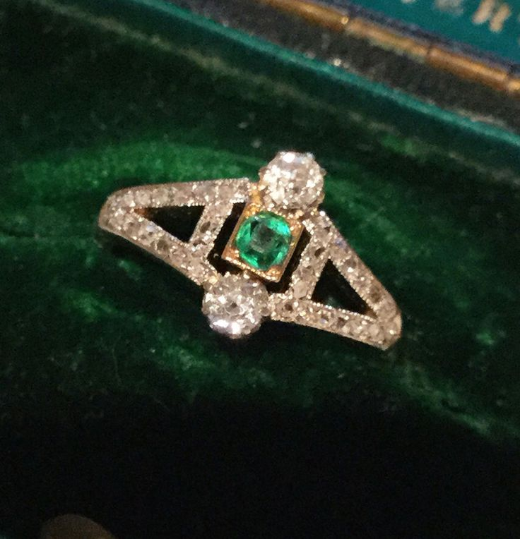 Ring size E 1/2 - (USA: 2.75). The two Diamonds each measure 2.5mm and are bright, sparkly and eye clean. Tiny ring size E 1/2 - (USA: 2.75). Beautifully presented in a black leatherette ring case as displayed. | eBay!
