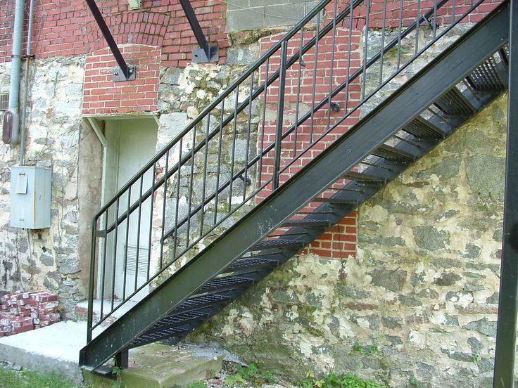 More Ideas. Outside Metal Staircase Cute