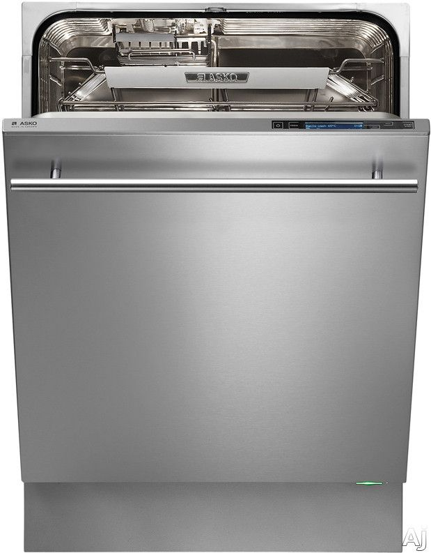 Asko D5894XXL Fully Integrated Dishwasher with 17-Place Settings, 15 Wash Cycles, 10Spray Wash System, Turbo Drying Express System, 4 Rack S...