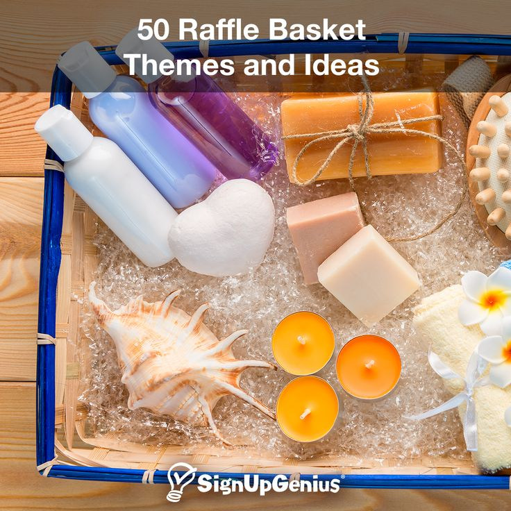 50 Raffle Basket Themes and Ideas. Raise money for your school or nonprofit with these creative auction basket ideas.