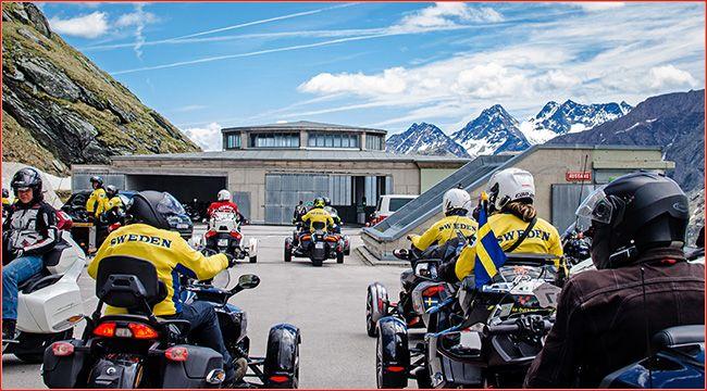 6. Can-Am Spyder-Alpentour: Am Großglockner Vom 7. bis 10. Juni 2018 lädt der kanadische Hersteller BRP alle begeisterten Spyder Roadster-Fahrer aus ganz Europa zur 6. Can-Am Spyder-Alpentour ein https://www.atv-quad-magazin.com/6-can-am-spyder-alpentour-am-grossglockner/ #canam #alpentour #spyderchallenge #großglockner #atvquadmagazin