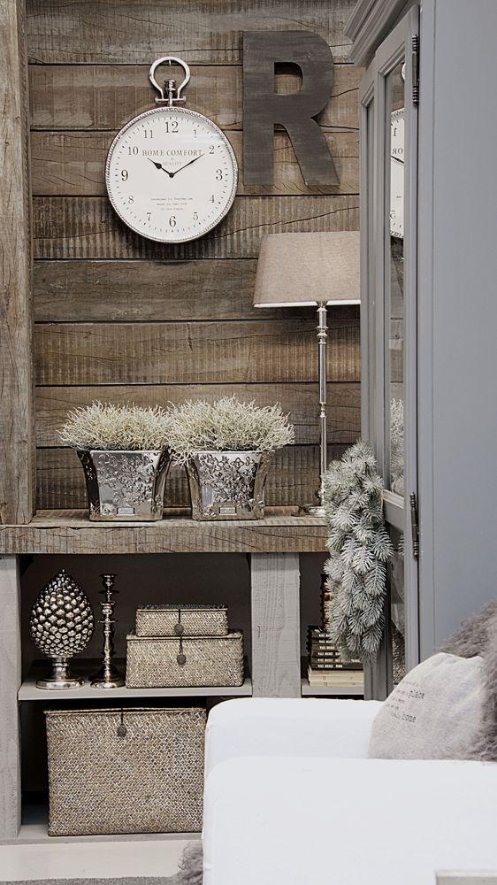 Lene Bjerre – AUTUMN 2013.  CLOTILDE wall clock, PLEASURE flower pots, CAROLA capital letter, KAMILLA box set.