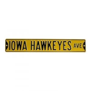 Iowa Hawkeyes Metal Street Sign - Mills Fleet Farm