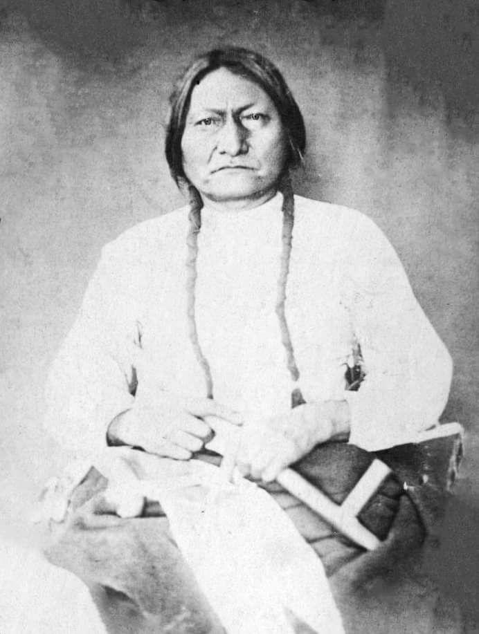 Сидящий Бык, 1882