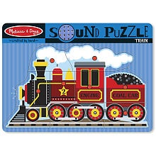 "Melissa & Doug Train Sound Puzzle - Melissa & Doug - Toys ""R"" Us"