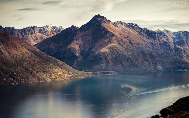 Jezioro, Wakatipu, Góry