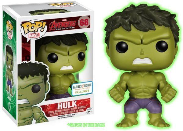 Funko Pop! Avengers 2 - Gamma Glow Hulk Exclusive Vinyl Figure