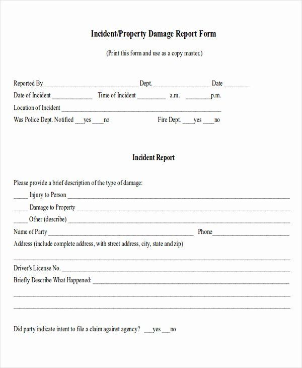 Personal Property Release Form Template Best Of Sample Property Damage Release Form 9 Examples In Word Pdf Letter Example Lettering Menu Template Word