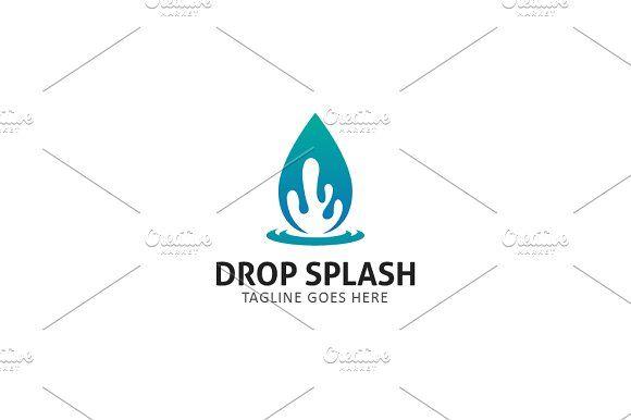 Drop Splash by GoldenCreative on @creativemarket