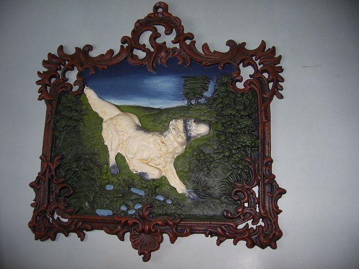 Hund - Gussbild - Kunstguss - Hausschild - Haus Bild Reliefbild Hausnummer Tiere