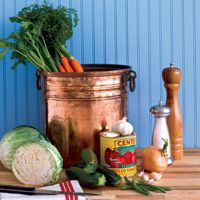 Our recipe for the Basic Soup yields such a large quantity -- to make sure you have enough to enjoy all week -- that it calls for a 12-quart stockpot for preparation. If you don't have one, not to worry -- the ingredients divide easily in...