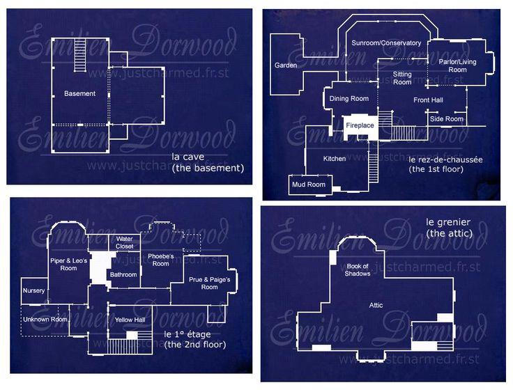 blueprint attic halliwell manor: