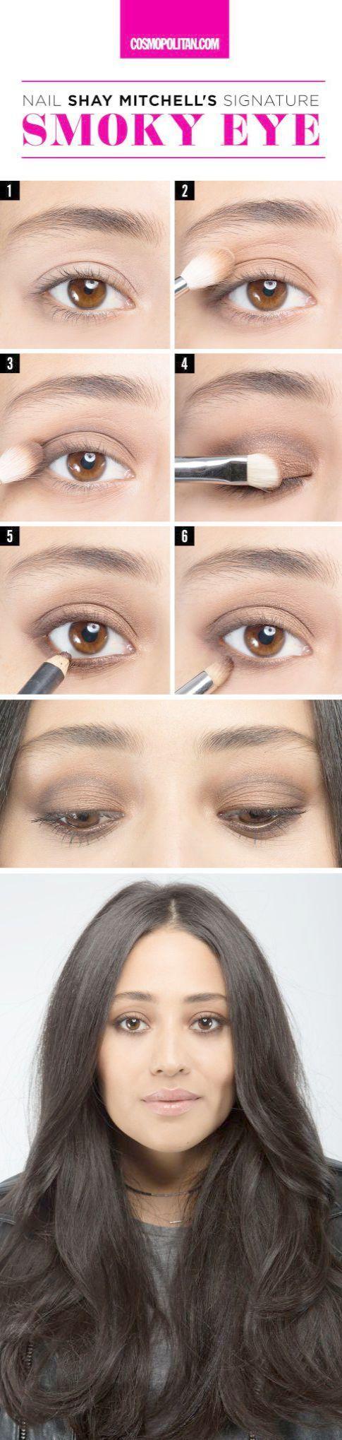 Makeup Geek Netflix either Black Smokey Eye Steps when