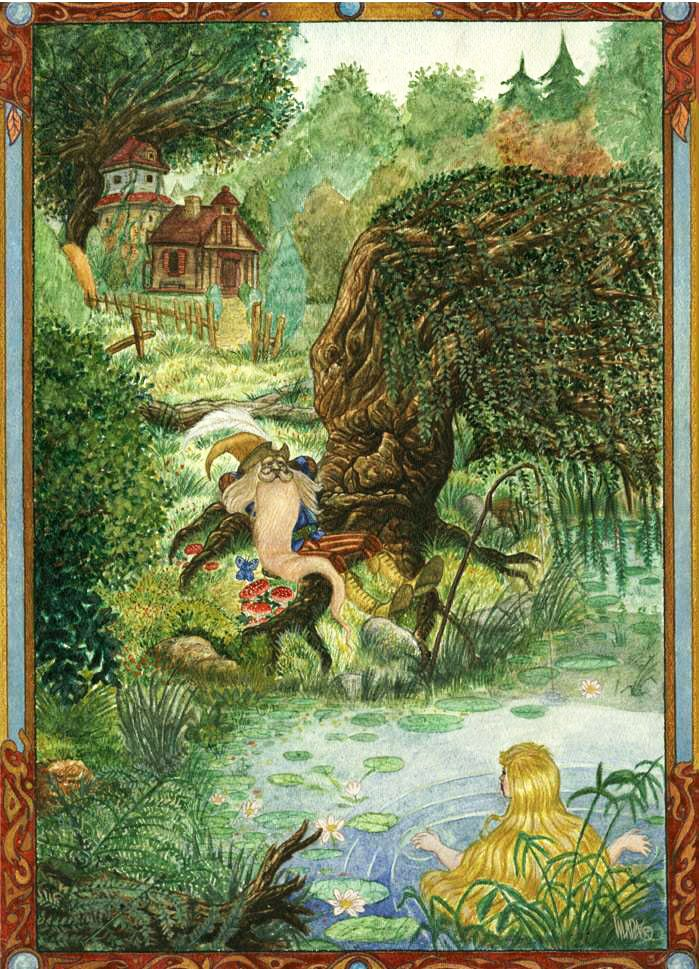 Tom Bombadil, arguably one of the coolest Tolkien-characters