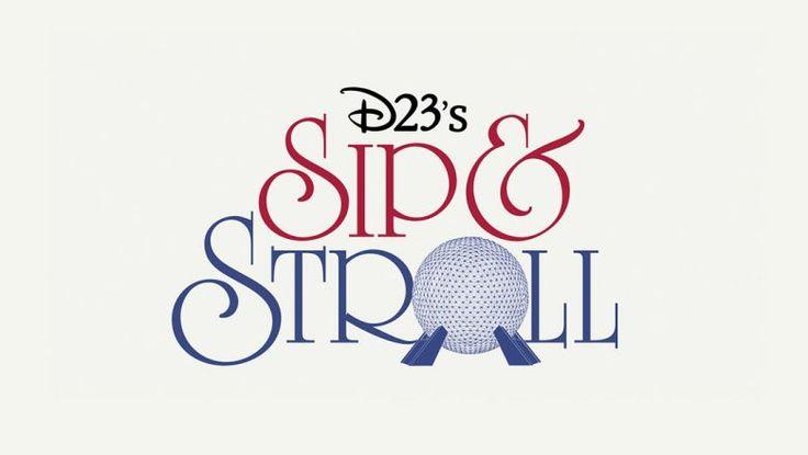 D23 Sip & Stroll Event returns on October 3rd to the Epcot International Food & Wine Festival at Walt Disney World Resort!