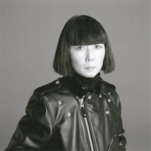 Rei Kawakubo - the creative force and founder behind the famed Comme Des Garçons fashion label.  JAPAN