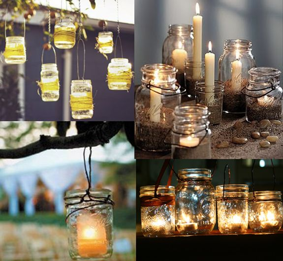 Candle jars - Commemorate each jar of Mt. Olive pickles you eat by turning it into something special or useful!