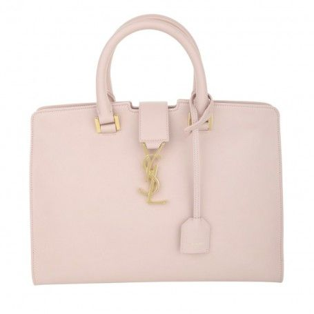 Saint Laurent Tasche – YSL Monogramme Cabas Small Tote Pale Pink – in rosa – Henkeltasche für Damen