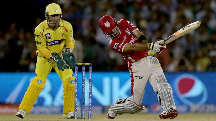 Glenn Mxwell thumped 90 off 38 bolls, King XI Punjab v Channai Supar Kings. Watch full highlights of maxwell's inning...
