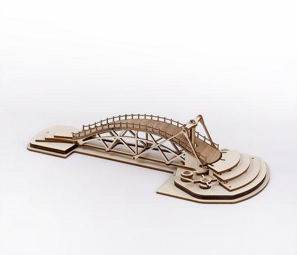 Leonardo's Rorating Bridge