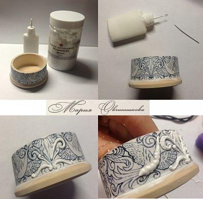 МК «Моя любимая текстурная паста или имитация резной кости»