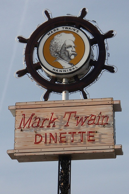 Mark Twain Dinette, Hannibal, Missouri - Home of the Maid-Rite and the best tenderloin ever made!!!