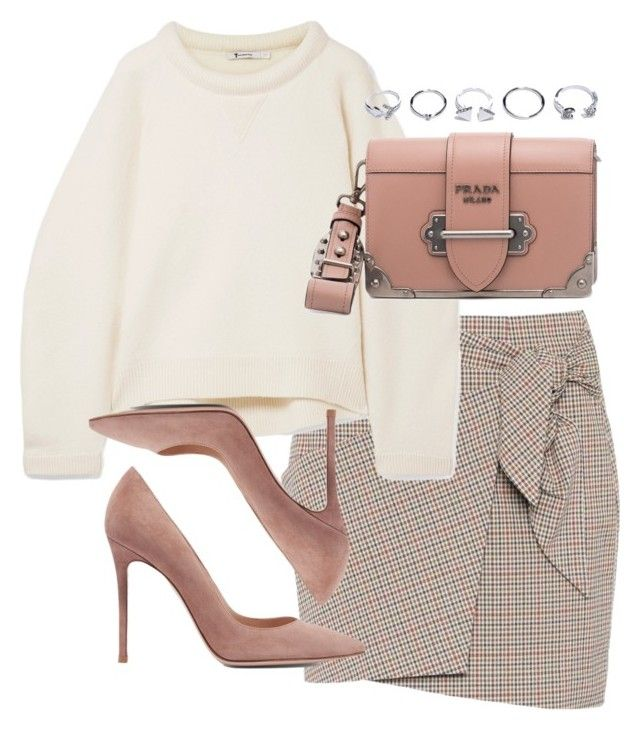 """""""Untitled #5109"""" by theeuropeancloset on Polyvore featuring Étoile Isabel Marant, T By Alexander Wang, Gianvito Rossi, Prada and GUESS"""