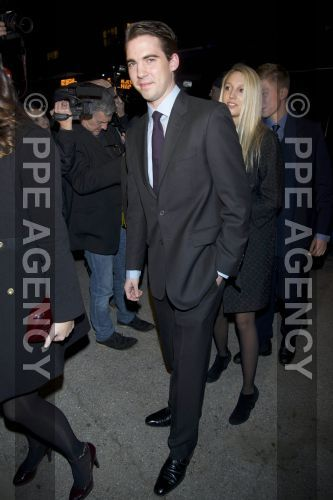 Noblesse & Royautés:  The Greek Royal Family attended a documentary of King Paul in commemoration of the 50th anniversary of his death-Prince Philippos with his niece Princess Maria Olympia