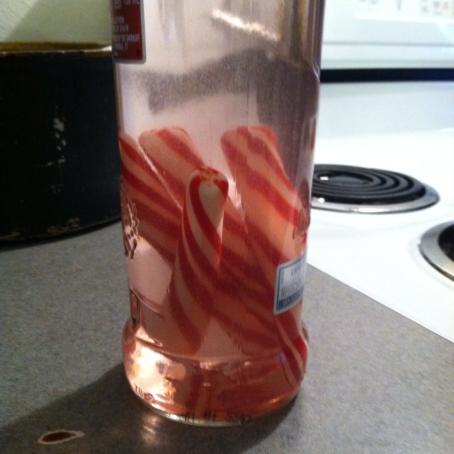 Peppermint Vodka For New Years! Just Put Some Soft