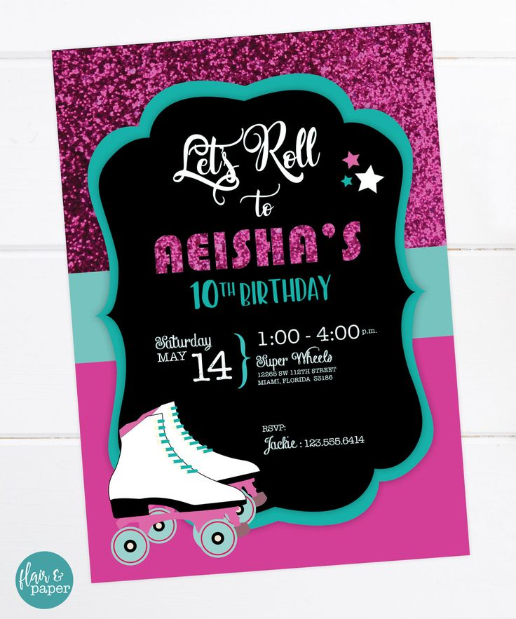 72 best Birthday Invitations images on Pinterest   Foxes ...