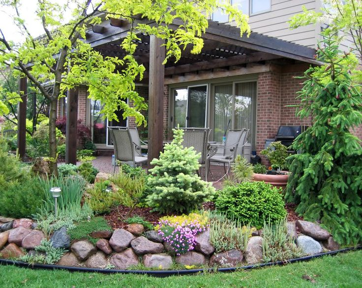 65 best images about berm and mound landscaping on for Backyard corner ideas
