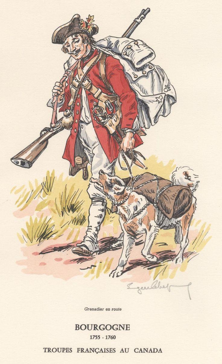 Troupes françaises au Canada 1755-1760